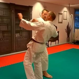 docenten op judomatten tijdens training 'BOPZ-praktijk: gedrag en actie'