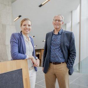 Erik Koster en Petra Tapper