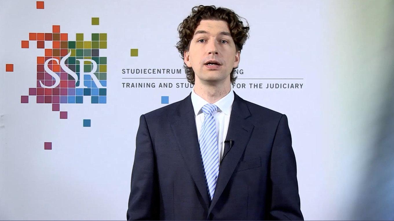 Ruben Houweling presenteert webcollege