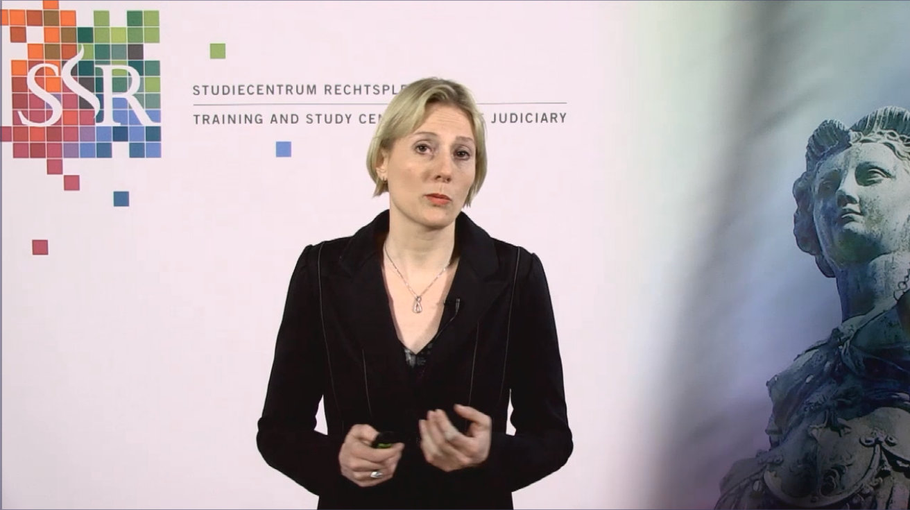 Maaike Kempes presenteert een webcollege