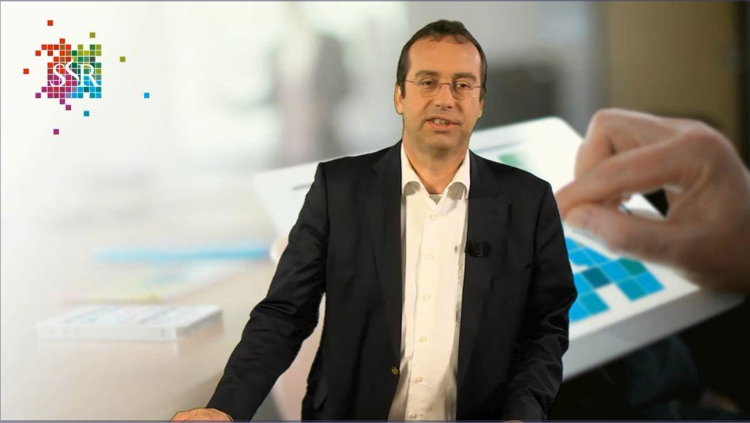 prof. mr. Leon Verstappen presenteert een webcollege
