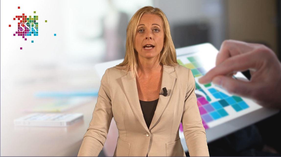 Bernice de Ruijter presenteert een webcollege