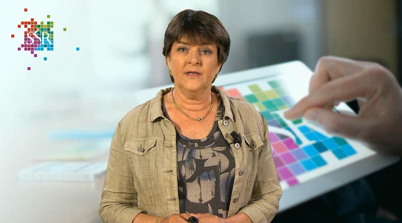 Ingeborg Lunenburg presenteert een webcollege