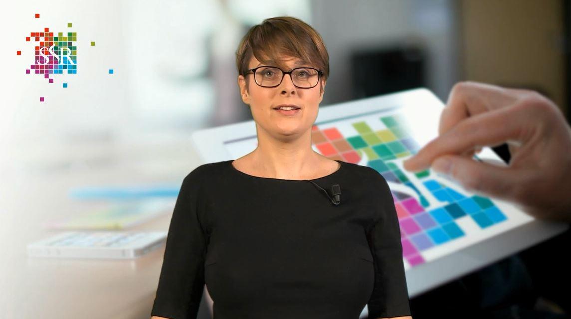 Jocelyn van Rijs presenteert een webcollege