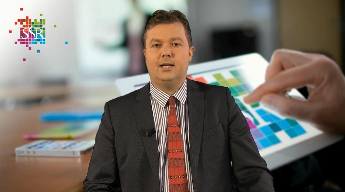 mr. Willem Visser presenteert een webcollege