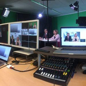 Webinar uitzending in studio