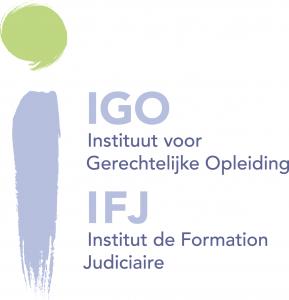 logo IGO bijeenkomst Belgische en Nederlandse jeugdrechters