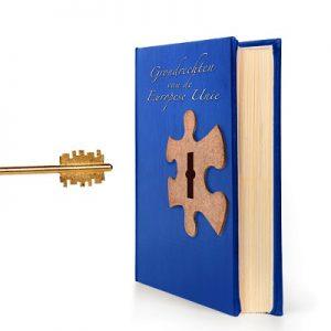 Boek met sleutel EU