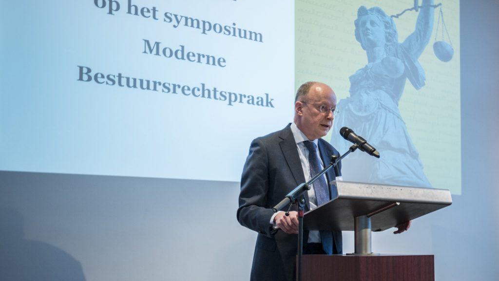 symposium 'Moderne Bestuursrechtspraak' Jaap de Wildt