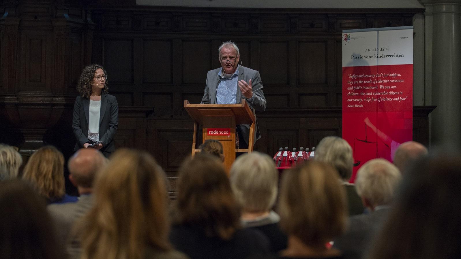 SSR Meillo-lezing 2018 Rode Hoed Alois van Rest en Hevien Dali