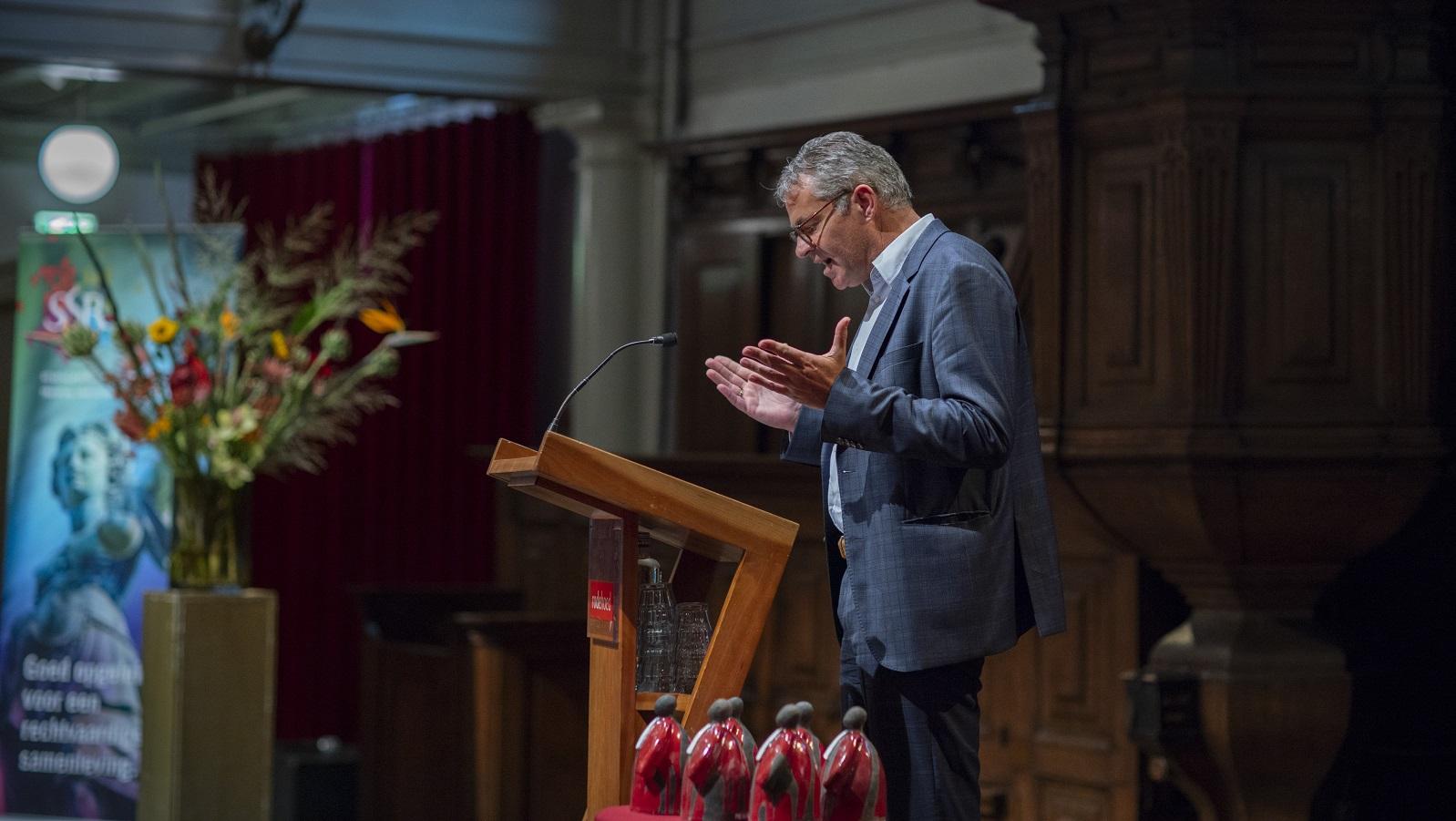 SSR Meillo-lezing 2018 Rode Hoed Johan Visser