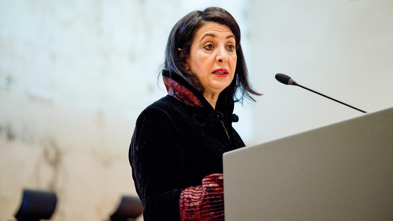 Kamervoorzitter Khadija Arib tijden rio-symposium 2018
