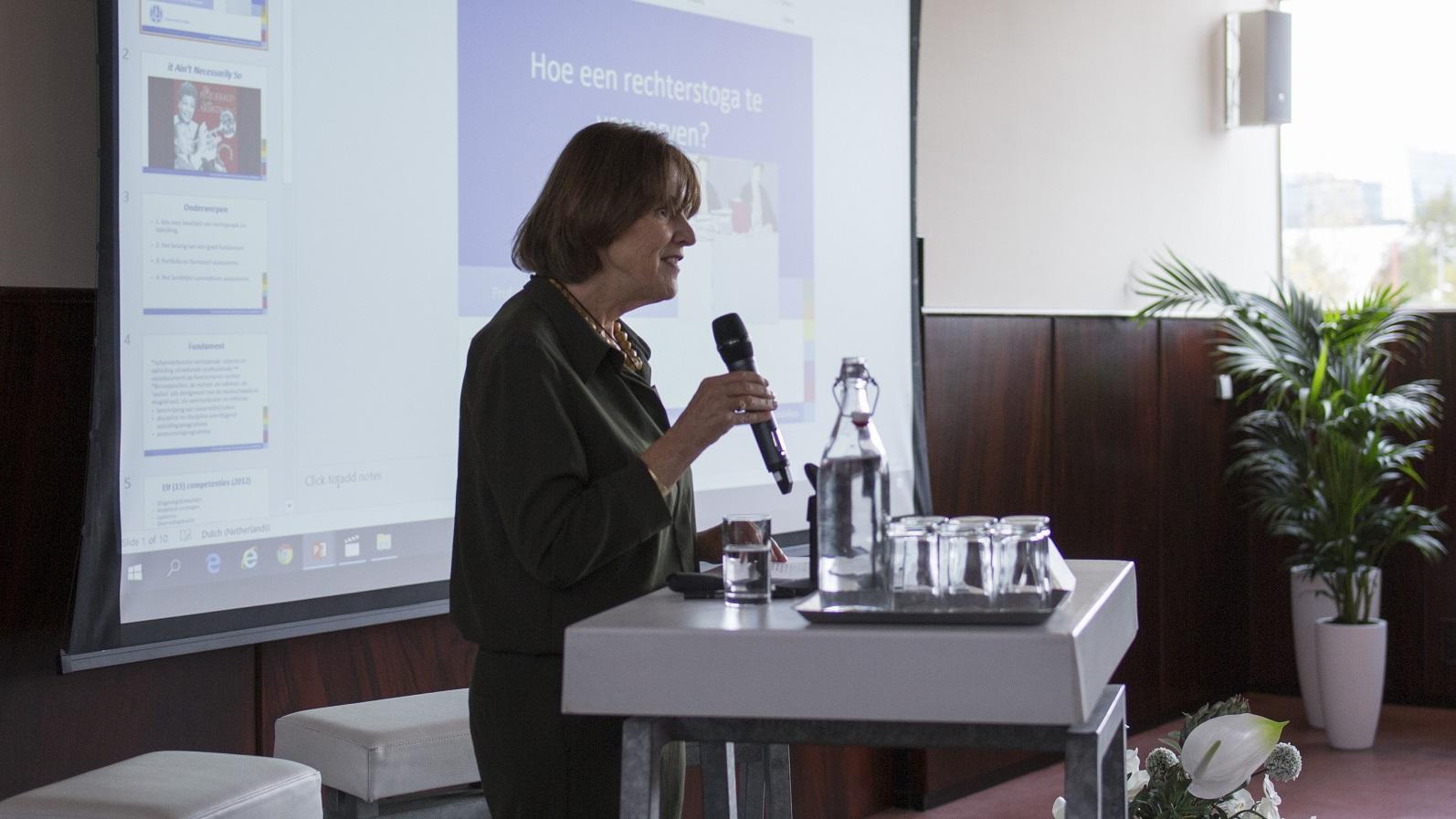 Bijeenkomst landelijke kwaliteitscoördinatoren 2018, Margreet Ahsmann