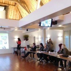 Cursuszaal seminar arbeidsuitbuiting
