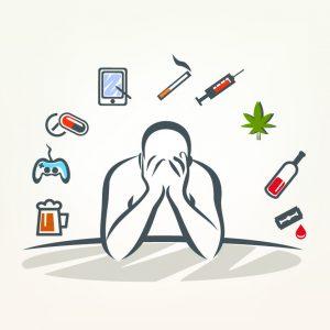 Man met verslavingsproblematiek