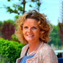 portret Ilse Heikoop, coach SSR